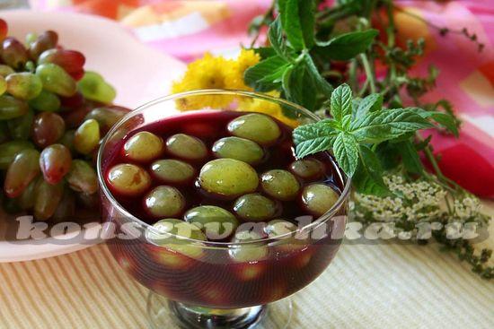 виноград в собственном соку