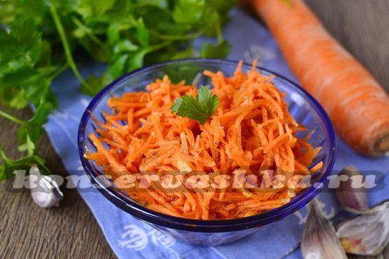 рецепт моркови по корейский рецепт настоящий рецепт