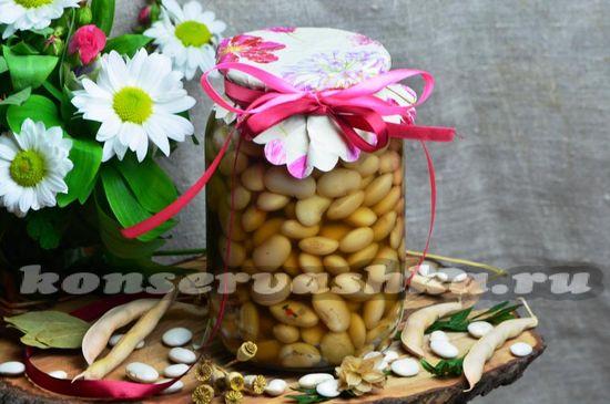 рецепт маринованной фасоли на зиму