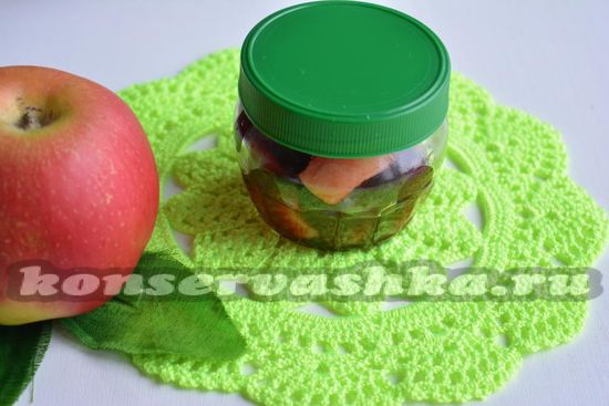 Варенье из вишни с яблоками - рецепт с фото