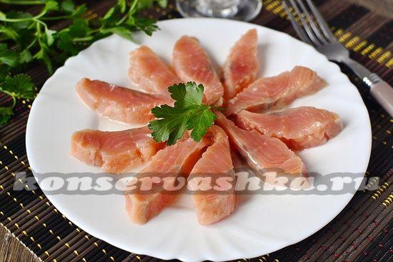Горбуша соленая под семгу рецепт с фото