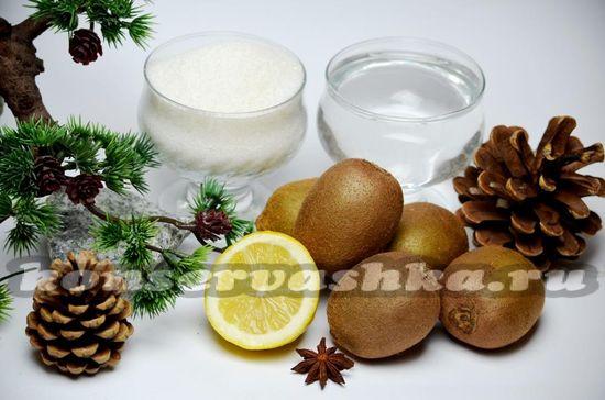 ингредиенты для киви