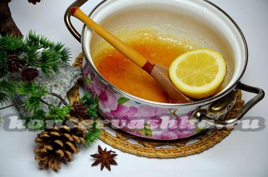 добавляем цедру лимона и сок
