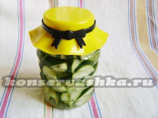 Огуречный салат Нежин на зиму