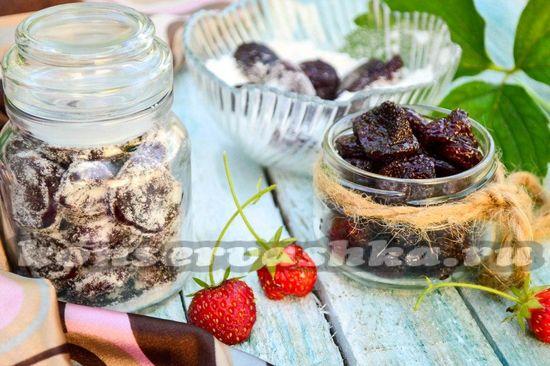 Сухое варенье из клубники: рецепт с фото