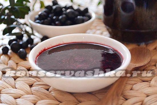 Варенье из черники без варки: рецепт с фото