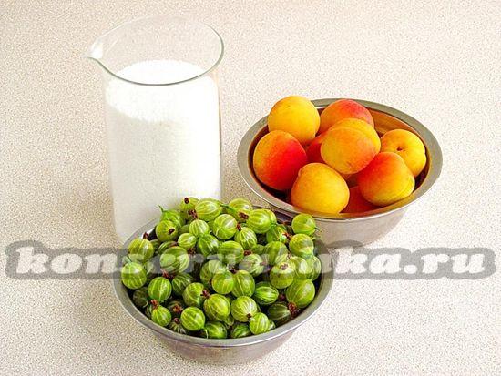 Ингредиенты для приготовления джема