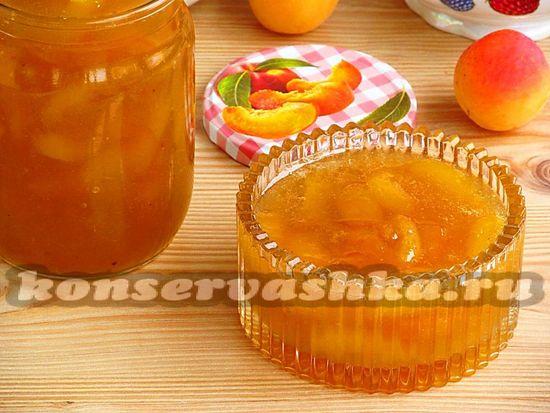Джем из абрикосов и крыжовника: рецепт с фото