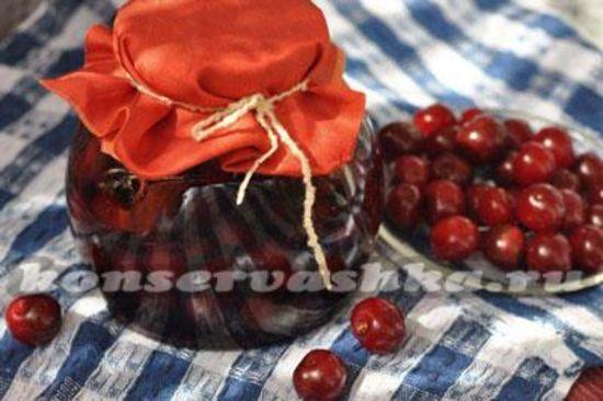 Как варить вишневое варенье с косточками