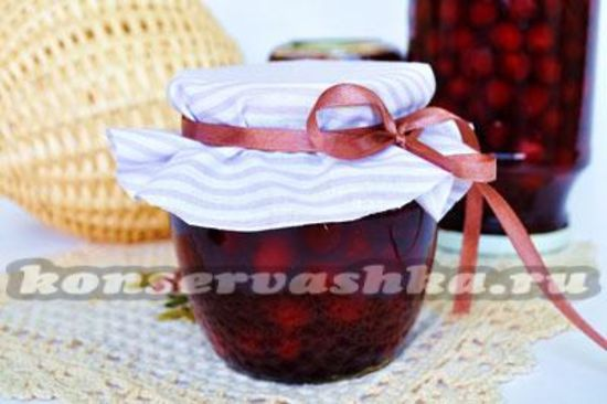 Как варить вишневое варенье с