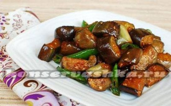 Баклажаны по-корейски, самый вкусный
