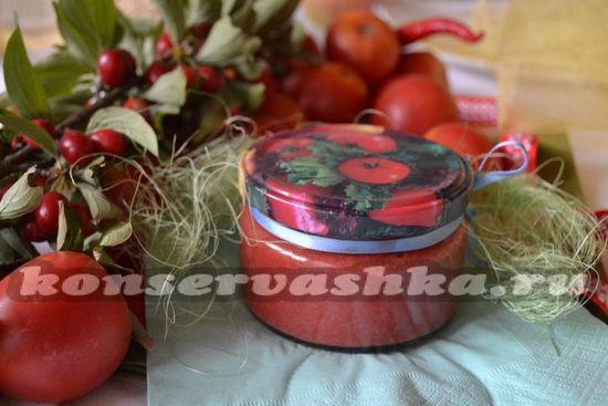 Соус из кизила с помидорами в домашних условиях на зиму