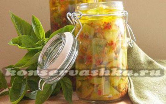 Салат из зеленых помидор на зиму: рецепты с фото пальчики оближешь