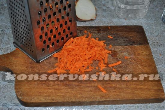 трем морковь
