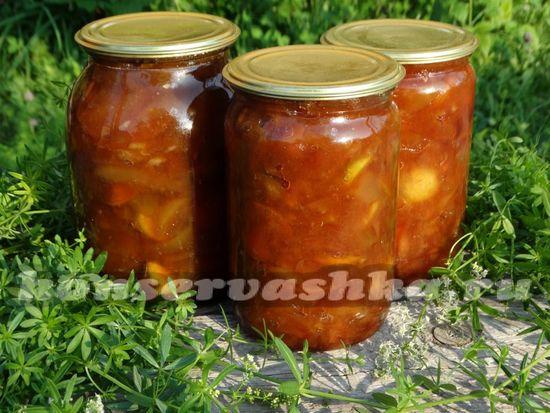 как приготовить варенье яблочное с соком апельсина и корицей