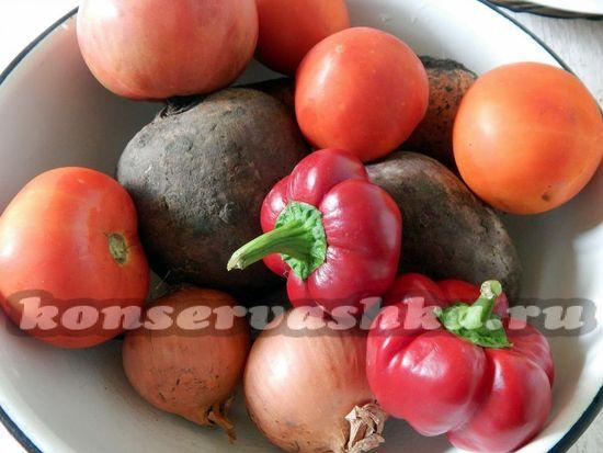 Подготовить овощи к приготовлению