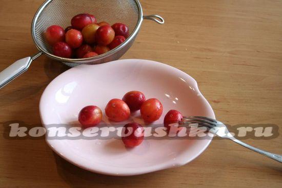Обрабатываем ягоды