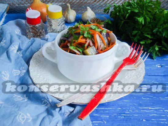 Рецепт Быстро маринованные баклажаны по-корейски