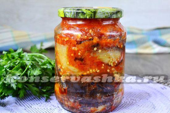 Тёщин язык из баклажан на зиму рецепт с фото пошагово