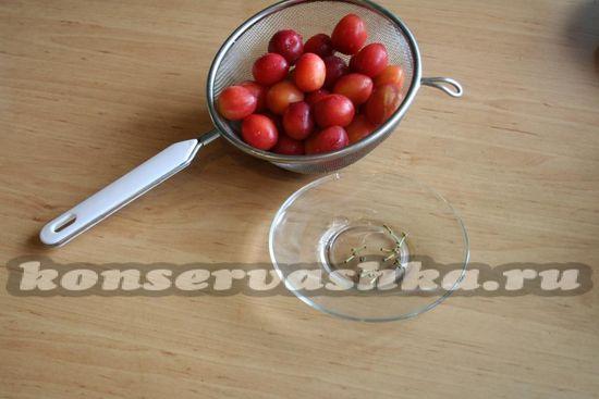 Откинуть ягоды на дуршлаг