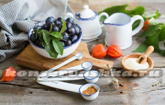 Физалис овощной: рецепты на зиму