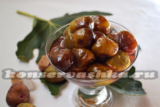 Рецепт варенья из инжира