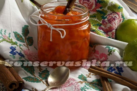 Рецепт моркови на зиму – морковь в сиропе с лаймом и корицей