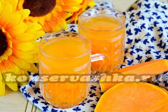 Рецепт компота из тыквы на зиму как ананас