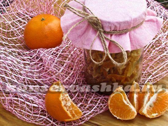 Варенье из мандариновых корок: рецепт с фото