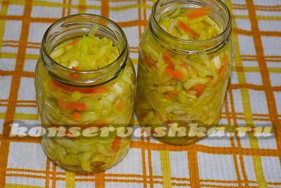 раскладываем салат