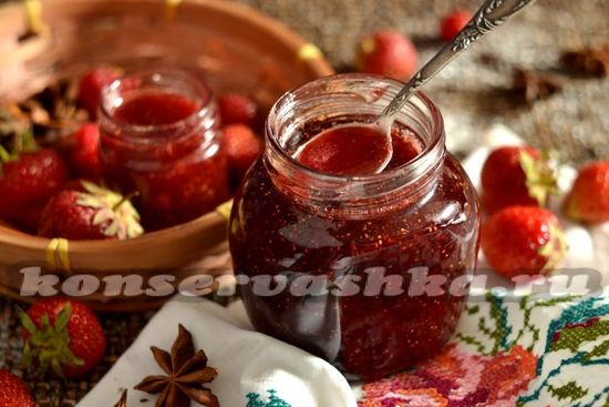 Желе из клубники, рецепт на зиму без желатина