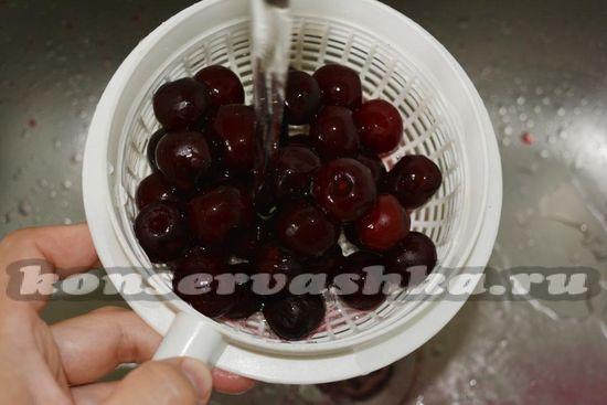 ягоды вымойте