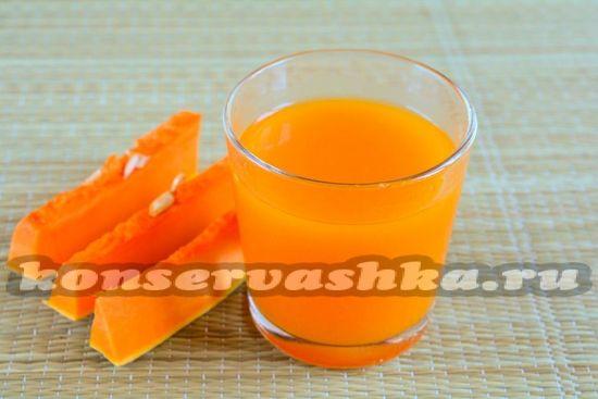 Тыквенный сок в домашних условиях на зиму: 6 рецептов пальчики оближешь!