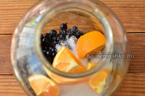 выкладываем апельсин