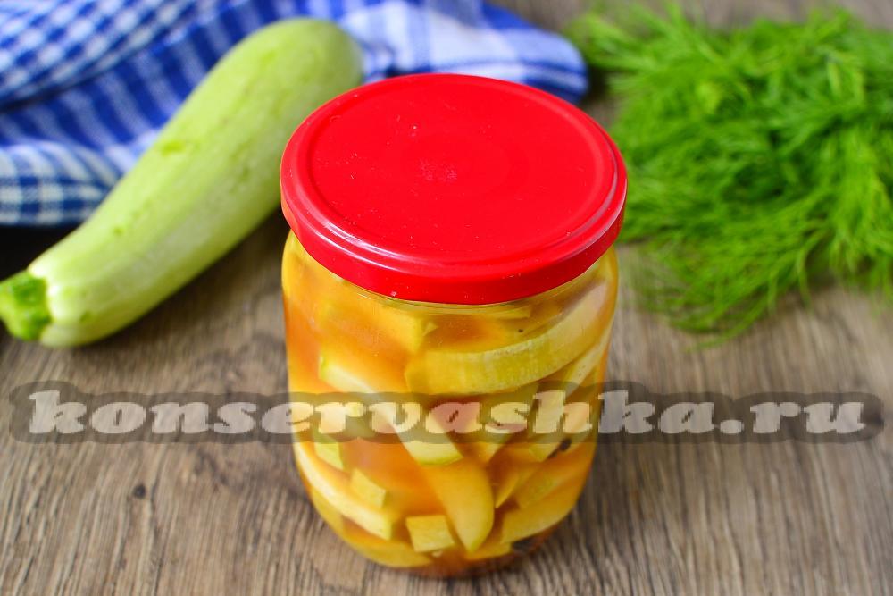 кабачки в кетчупе чили на зиму рецепт