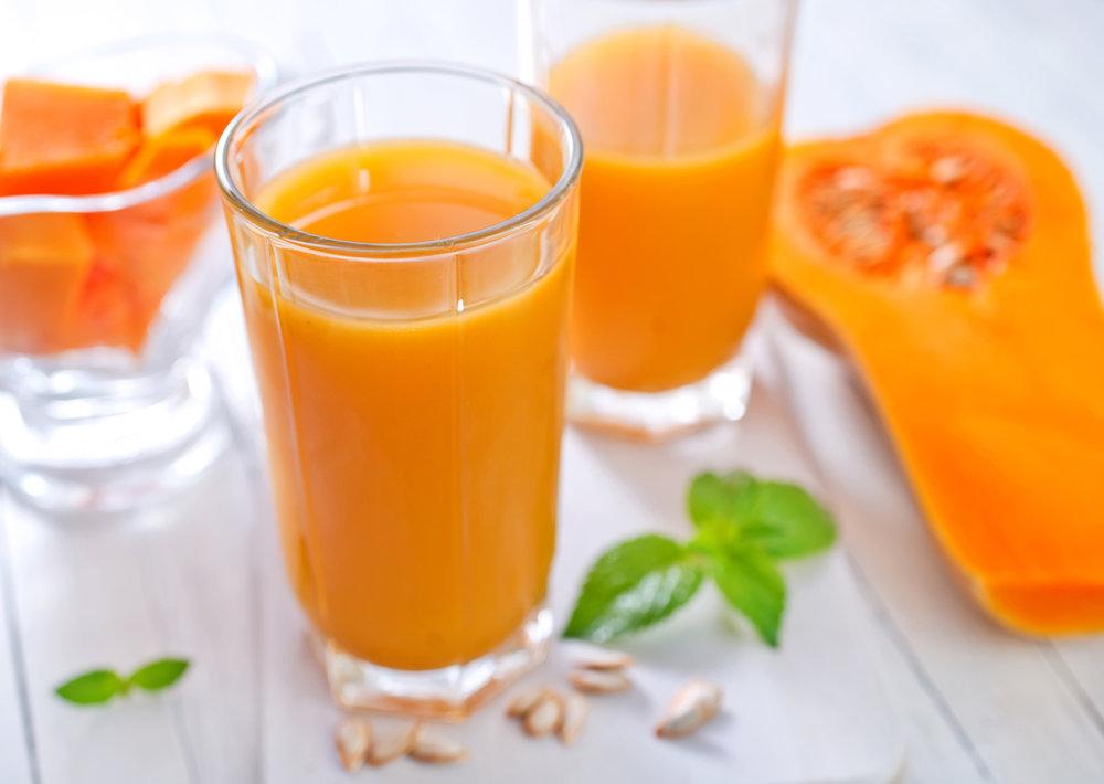 Тыквенный сок: рецепт в домашних условиях Легкие рецепты 44