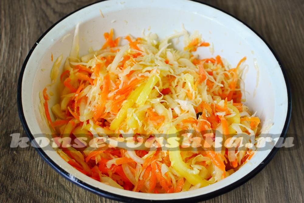 Салат лук и уксус
