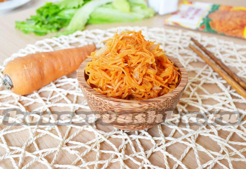 морковь по корейски рецепт как в магазине