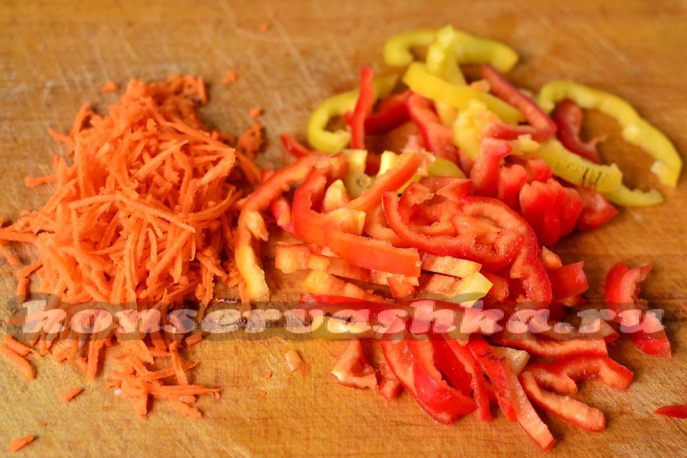 Маринованная капуста с болгарским перцем рецепты 173