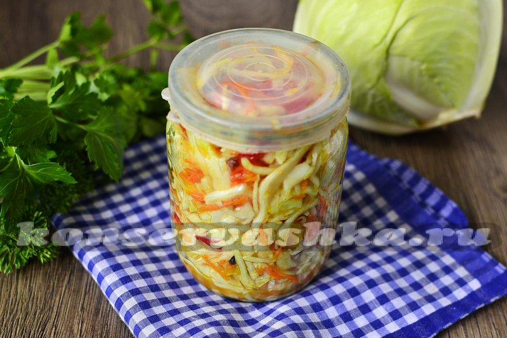 Цветная капуста с болгарским перцем на зиму рецепты