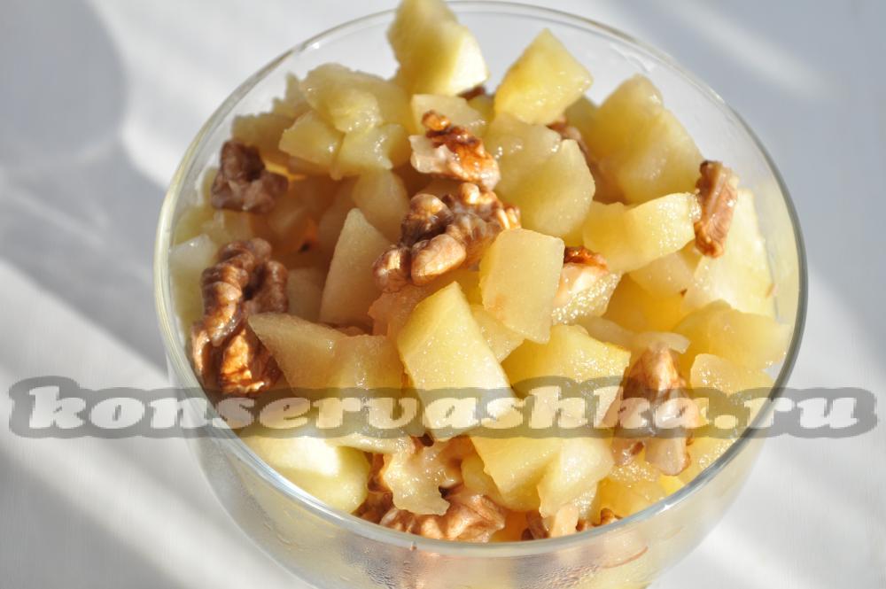 Рецепт королевского варенья из яблок