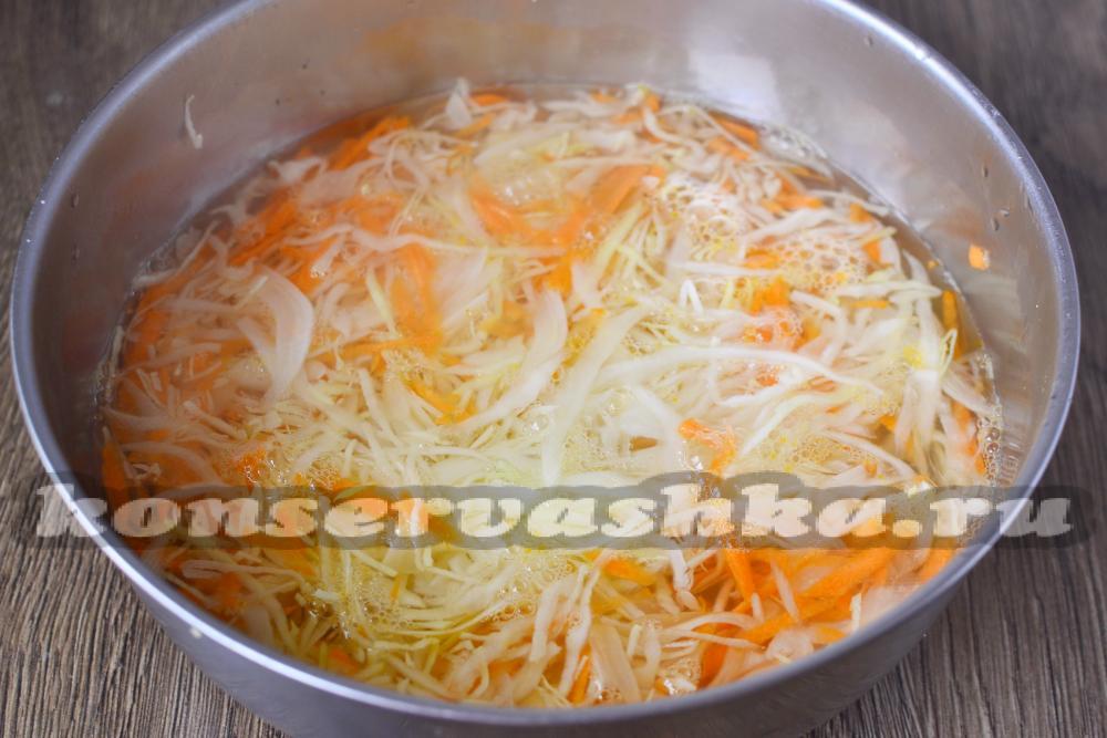 Рецепт капусты квашеной быстрого приготовления в рассоле
