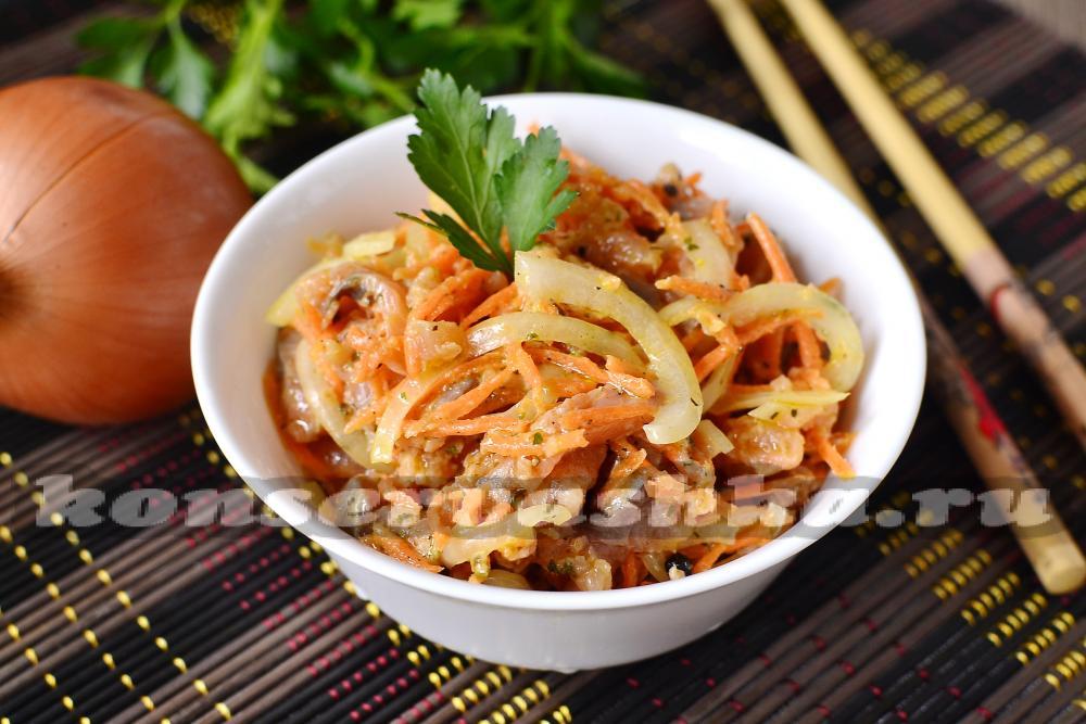 Горбуша по корейски рецепт с фото
