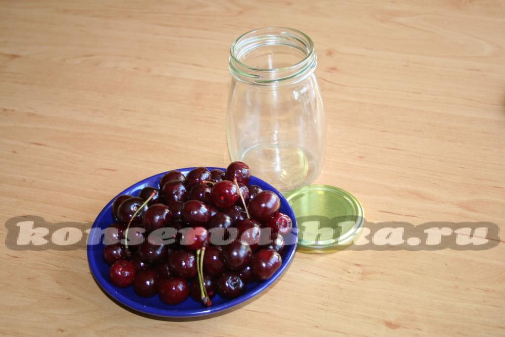 Как сделать вишню в собственном соку без сахара