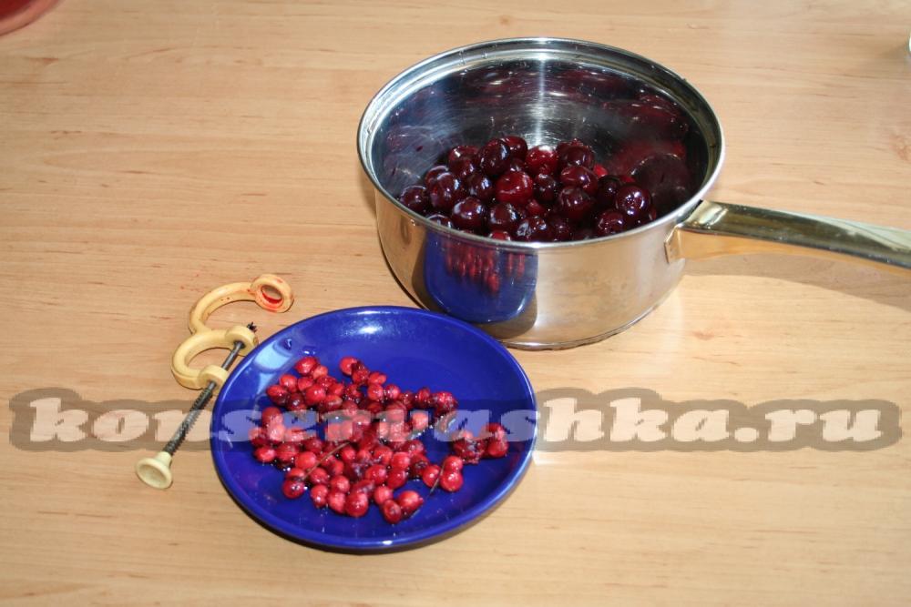 Как приготовить сок из вишни в домашних условиях 206