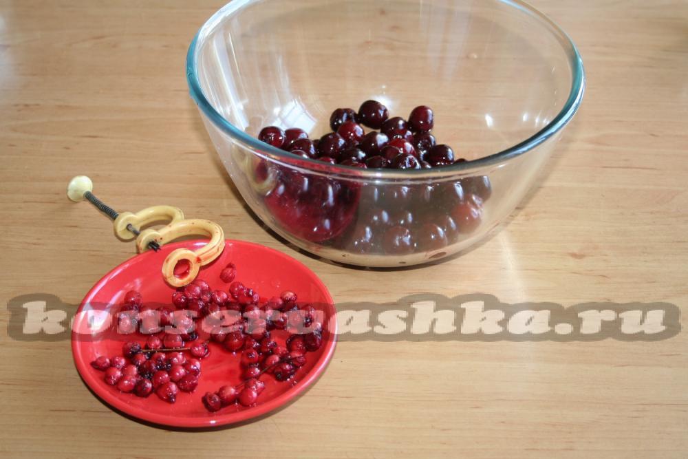 Заготовки из вишни на зимуы фото