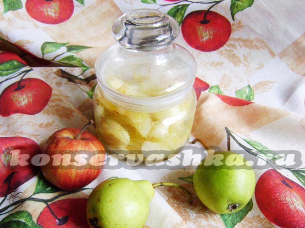 Конфитюр из яблок и груш на зиму рецепт