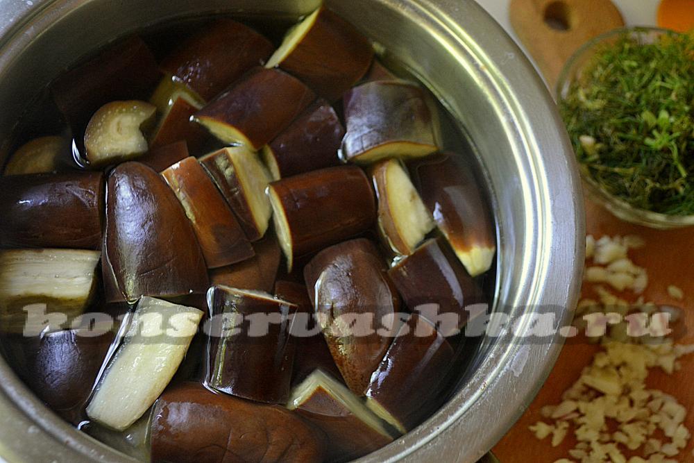Баклажаны как грибы на зиму рецепты пошагово с фото