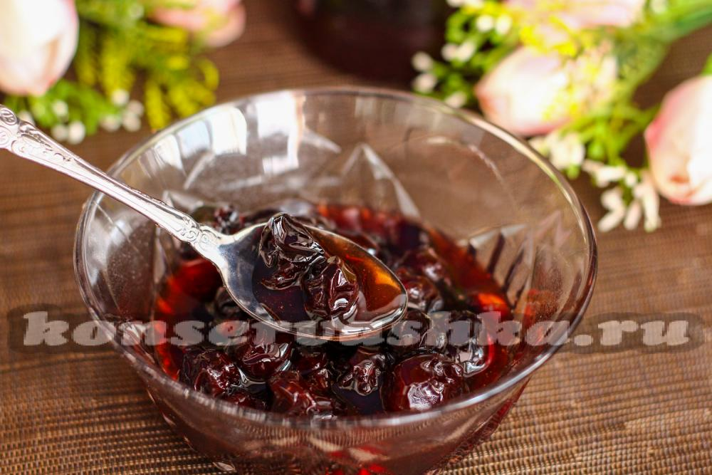 Как сделать вишневое варение густым 929