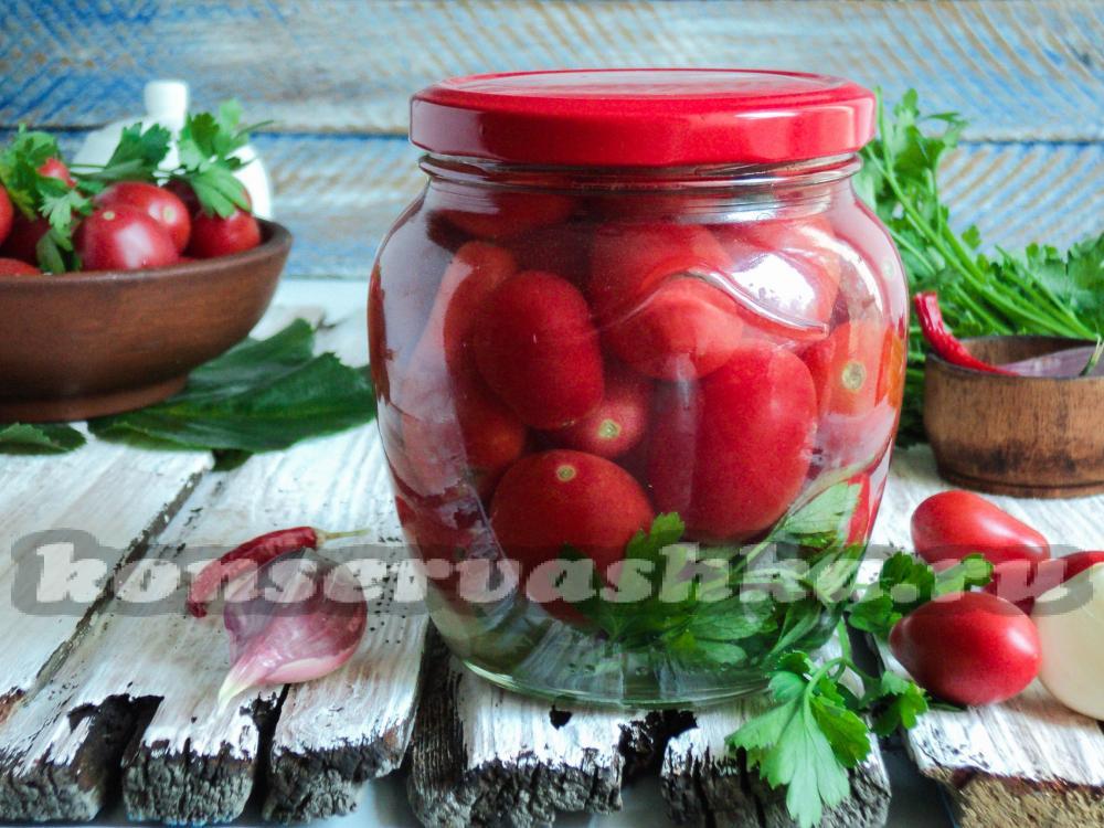 помидоры черри на зиму рецепты с фото